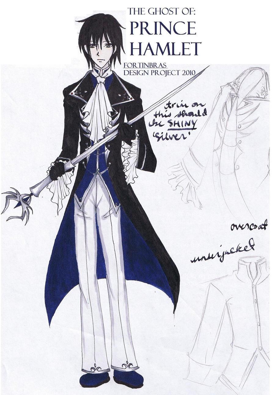 Fortinbras-Hamlet design by AkabaraYashiki on DeviantArt