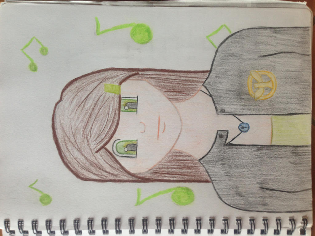 Scribble Drawing Game : Anime the hunger games percy jackson music drawing by