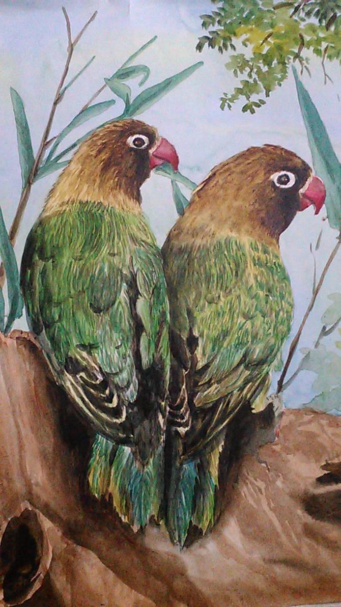 Birds 1 by blambobee