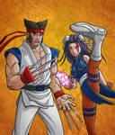 Wolv-Ryu-ine and Chun-Locke