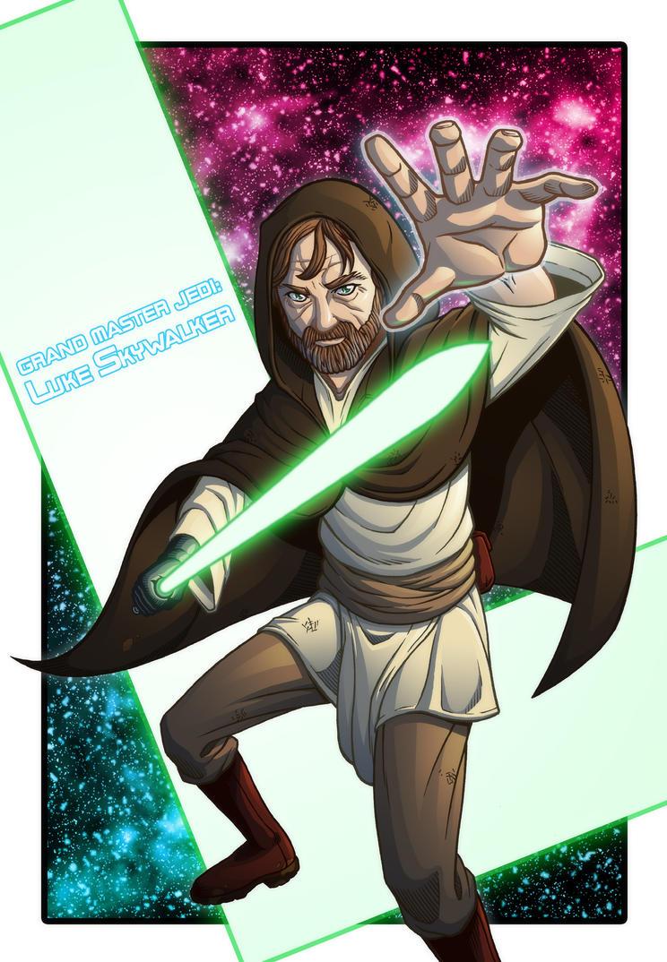 Grand Master Luke by Godsartist