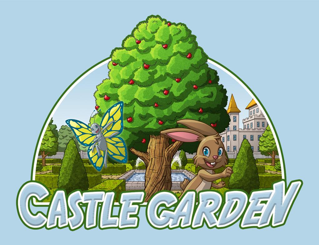 Castle Garden Logo by Godsartist