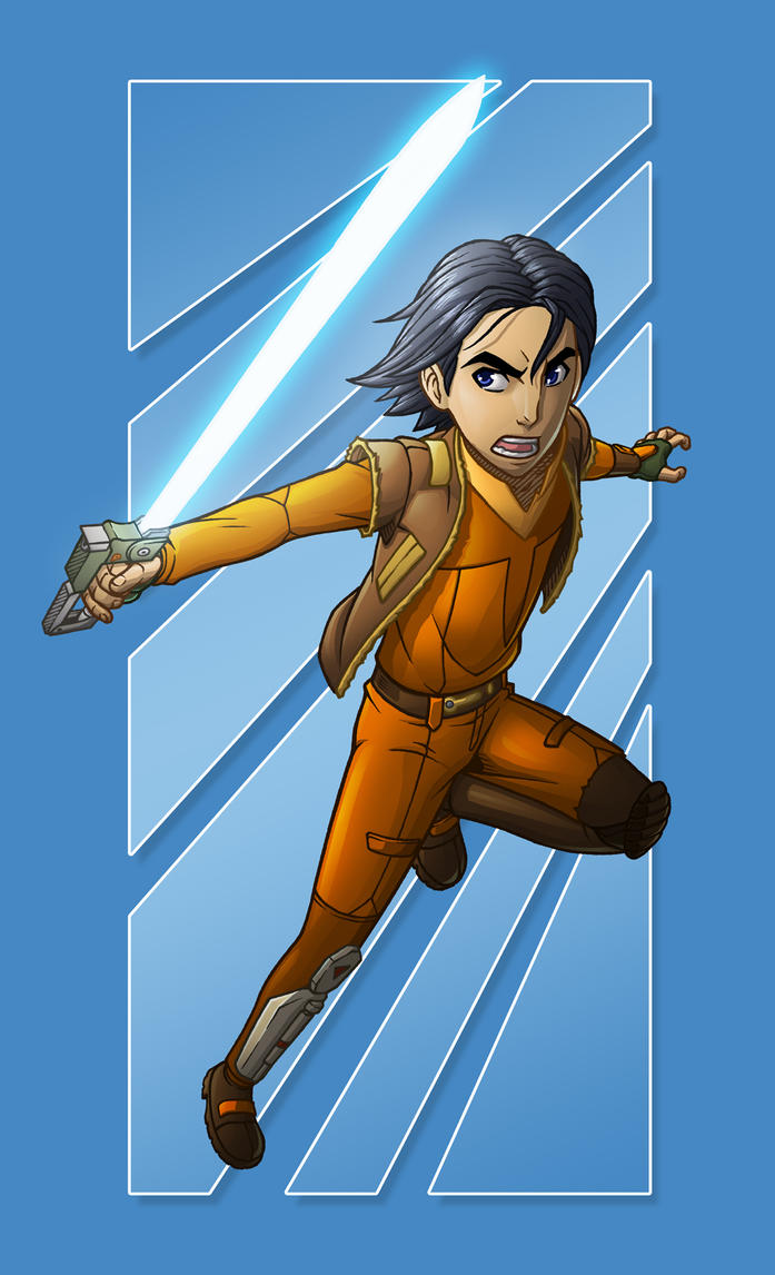 Ezra Bridger by Godsartist