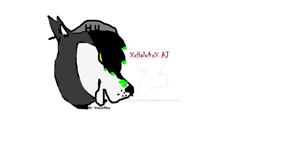 XxHalo4xX AJ (art contest) by LabradorsAndHuskies