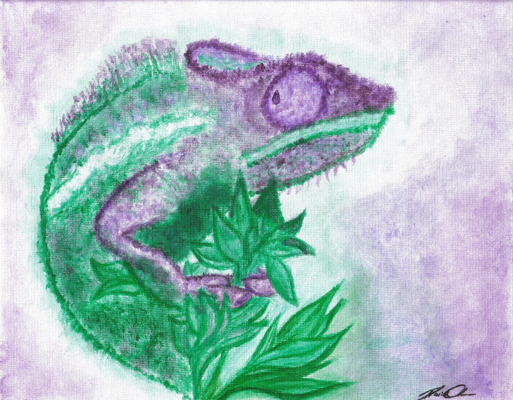 Chameleon by Poke-Dave