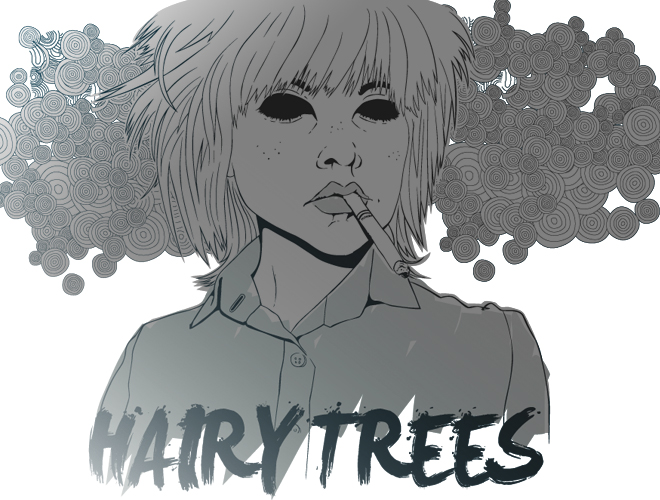 Hairy Trees by digitalsleaze