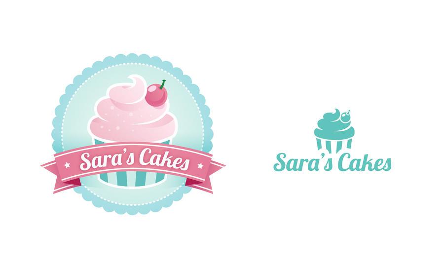 Cakes Bakery Ideas Logo