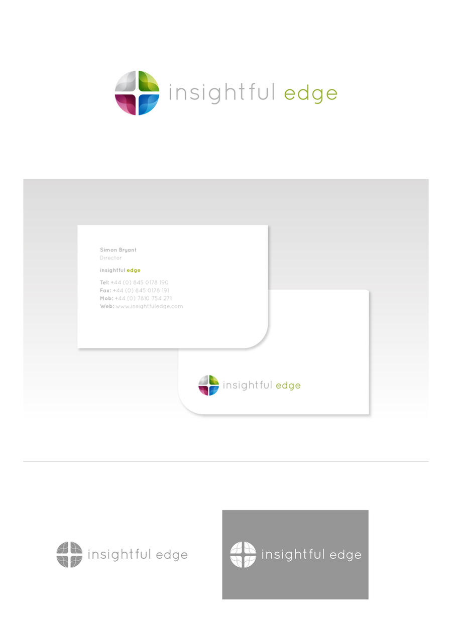 Insightful Edge branding by digitalsleaze