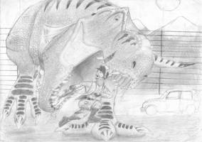 Puny Human by ebelesaurus