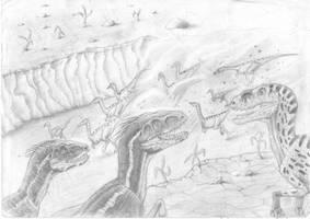 Battle plan by ebelesaurus