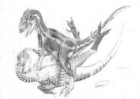 nezbit vs loki by ebelesaurus