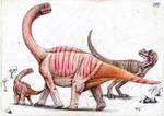 Camarasaurus vs Allosaurus