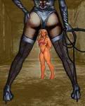 Domme's Captive Lucy