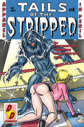 Tails of the Stripped #4 cover by Chickfighter