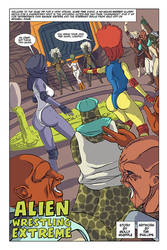 Alien Wrestling Extreme by Chickfighter