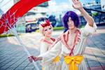 Shizuku and Homura from anime Bleach by Lunomar