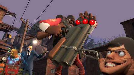 GMOD: 3 grenades 2 holes by happy-heavy