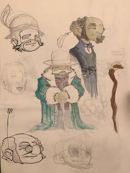 Jan. 27, 2021 - Bedtime Sketch