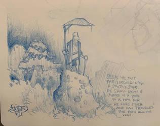 Jan. 29, 2021 - Bedtime Sketch