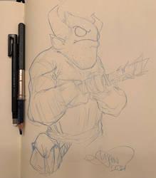 Feb. 2, 2021 - Bedtime Sketch