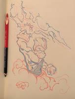Feb. 15th 2021 - Bedtime Sketch