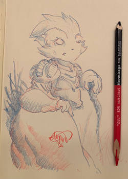Feb. 16, 2021 - Bedtime Sketch