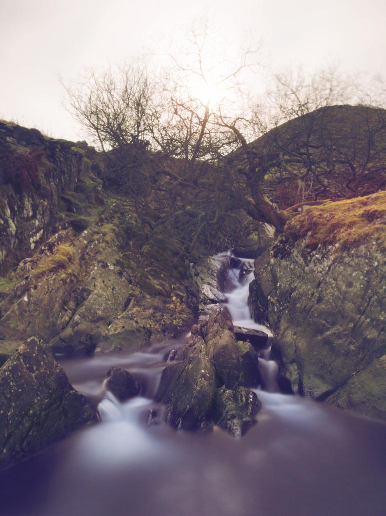 Waterfall 2 by manofallart