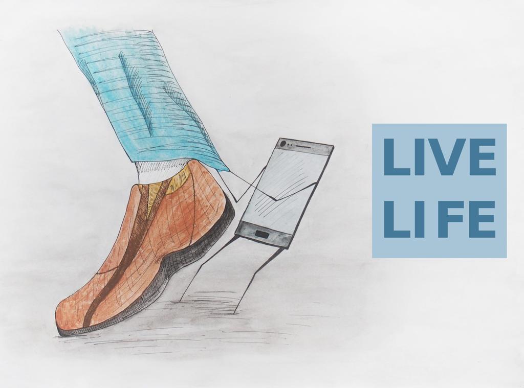 Live Life #4 by manofallart