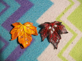 Leaf Brooches 01