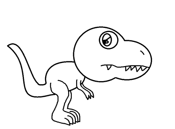 Dinosaur Coloring Pages  Twisty Noodle