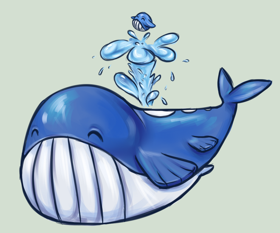 Wailmer and Wailord by RequestFag on DeviantArt Wailmer Wailord
