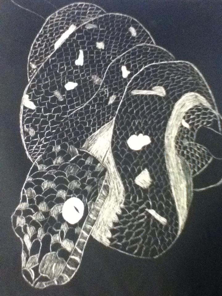 Tree Hugger Snake by EmoAries