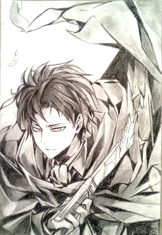 Shingeki no Kyojin  Levi by EnolayShingeki No Kyojin Levi Manga