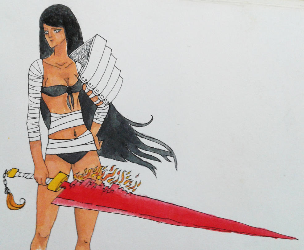 Fire Blade by viruceae