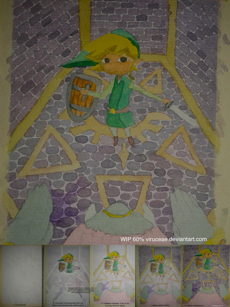 A Link Between Worlds by viruceae
