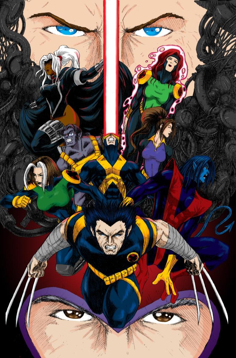 The X-Men by darkotaku