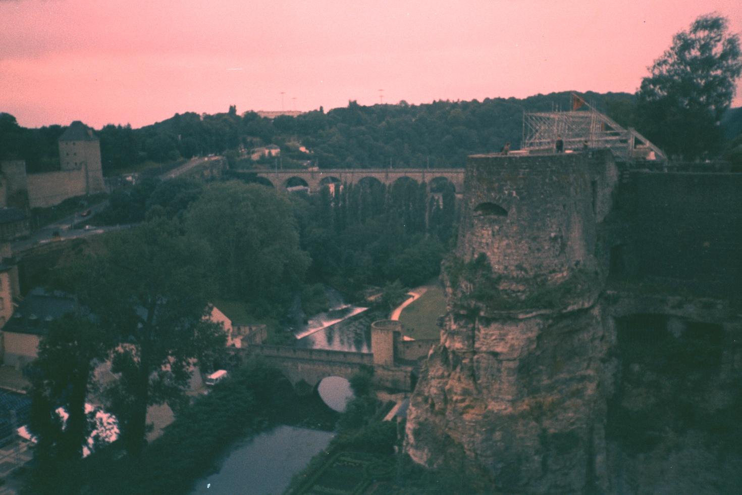 Luxemburg in a strange light