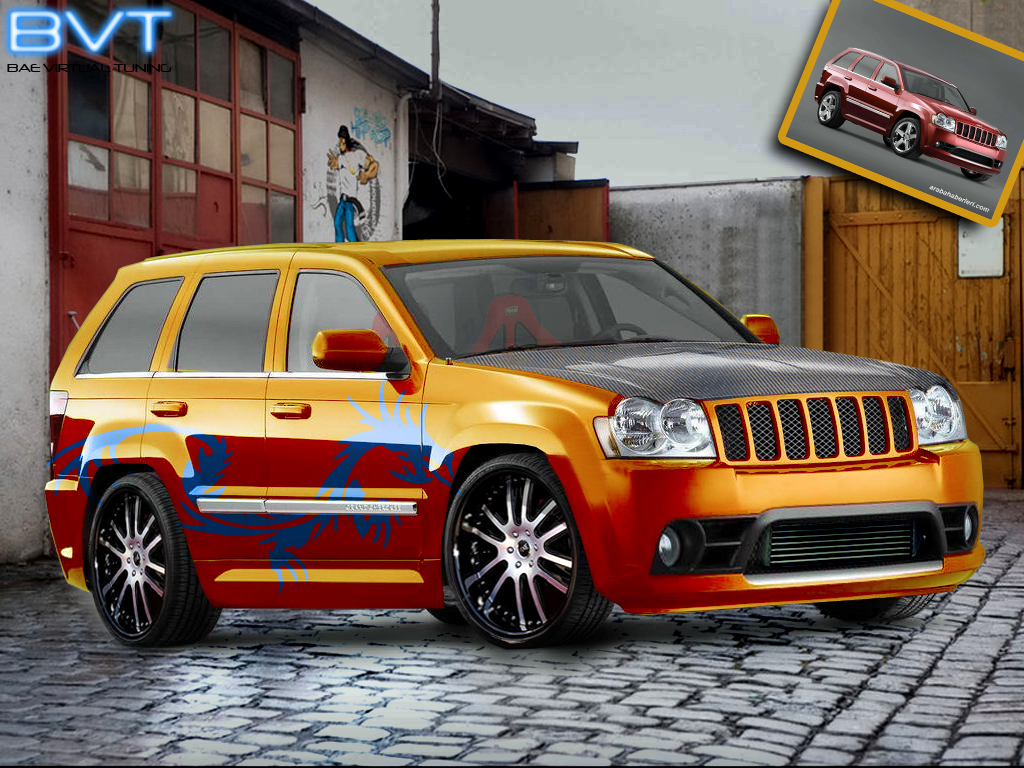 grand cherokee virtual tuning by bcmbae on deviantart. Black Bedroom Furniture Sets. Home Design Ideas