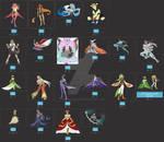 Pokemon Adoption Purge- 18/20 Open by Phoenixking732