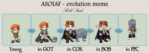 Robb Stark - evo. meme