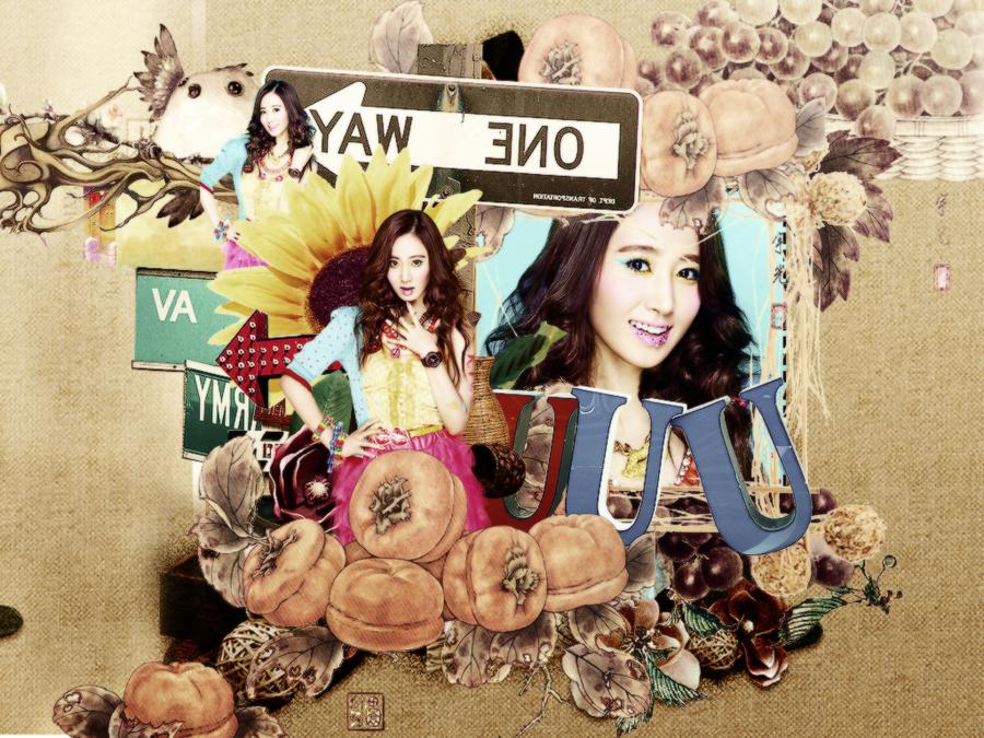 Wallpaper Yuri - For Yumi babe by Luhye