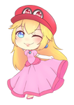 [COMMISSION] PRINCESS PEACH WITHOUT MUSTACHE VER