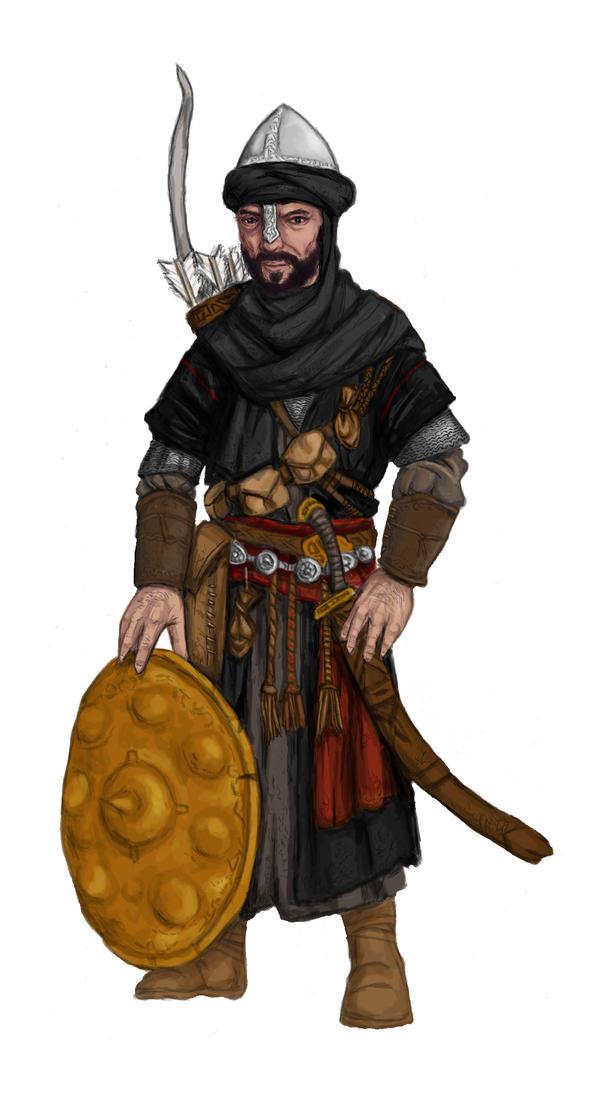 Arabic Warrior by kickfoot on DeviantArt