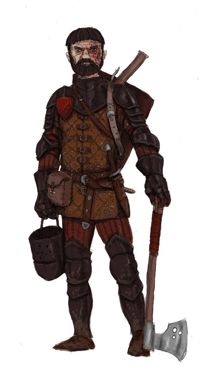 Mercenary Knight by kickfoot on DeviantArt  Mercenary Knigh...