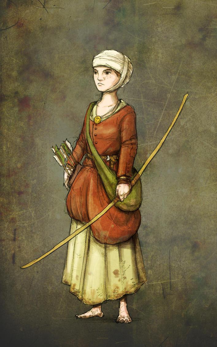 Gangrel peasant girl by kickfoot on DeviantArt