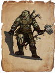 Pathfinder pirate orc