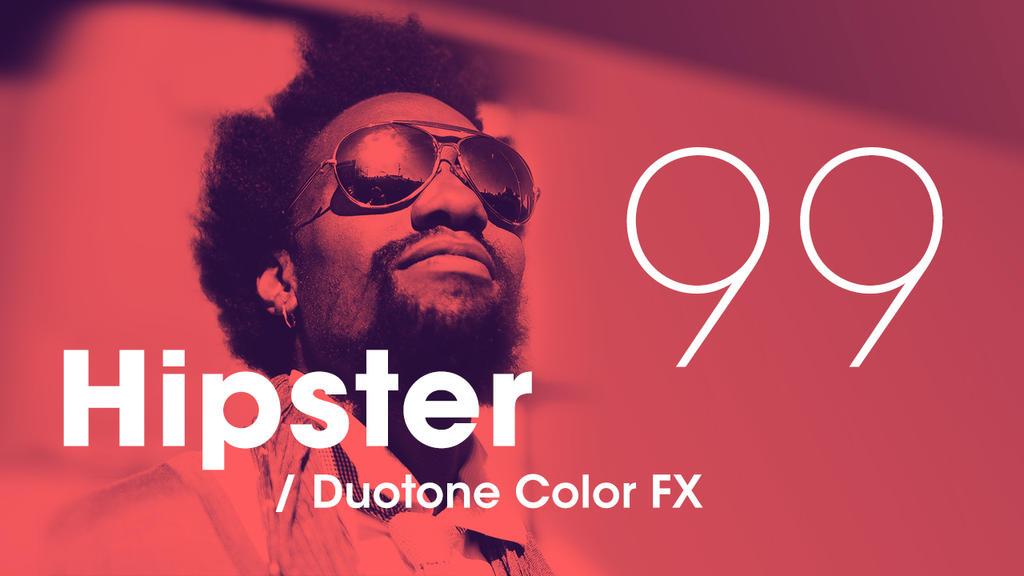 Hipster - Duotone by Devotchkah
