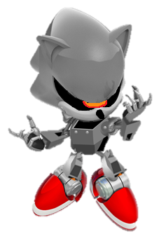 Silver sonic (sonic generations style) by Fnatirfanmario on