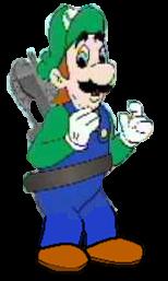 Hotel Mario 2 Gears of Toasters Luigi Full body by Fnatirfanmario
