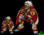 Digimon Zodiac: Reguleomon by Neegasai
